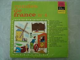 33 Tours: RONDES DE FRANCE N° 4 Meunier Tu Dors - Fontana 826.557 QY - Maitrise De L'O.R.T.F - Children