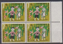 BRD 1961 MiNr. 369 4er Block** Postfr. Wohlfahrt: Hänsel Und Gretel ( 6901 )günstige Versandkosten - BRD