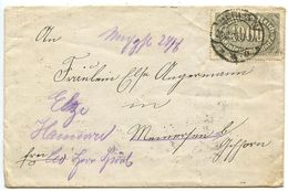 Germany 1923 Cover Berlin To Hannover, Scott 204 1000m. - Germany