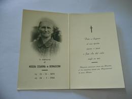 WW2 LUTTINO DEATH CARD NOSEDA CESARINA IN BERNASCONI  1944 - Religione & Esoterismo