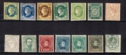 Espagne Belle Petite Collection D'anciens Neufs * 1862/192. Bonnes Valeurs Et Gomme D'origine B/TB.. A Saisir! - Espagne
