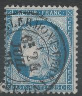 Lot N°43312   N°60, Oblit Cachet à Date De Clermont-Ferrand, Puy-de-Dôme (62) - 1871-1875 Ceres