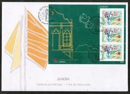 CEPT 1998 AZORES MI BL 18 FDC - Europa-CEPT