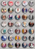 David Bowie Music Fan ART BADGE BUTTON PIN SET (1inch/25mm Diameter) 35 DIFF - Music