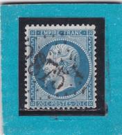 NAPOLEON N° 22    GC 2875    PLANCY   /  AUBE  - REF ACDIV + Variété - 1862 Napoleon III