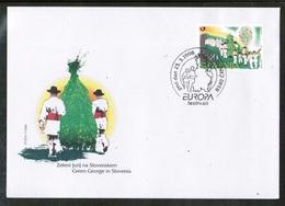 CEPT 1998 SI MI 225 SLOVENIA FDC - Europa-CEPT