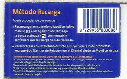 TELEFONICA MOVISTAR ACTIVA 5000 PTS - Espagne