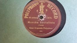 78T Chanson Argentine - Gran Orquesta Polyphon - 78 Rpm - Schellackplatten