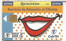 TELEFONICA SERVICIO DE ATENCION AL CLIENTE 500 PTS - España