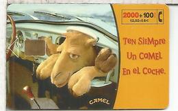 TELEFONICA CAMEL TABACO TOBACCO 2000+100 PTS - Tarjetas Telefónicas