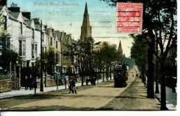 N°1531 A -cpa Walters Road, Swansea- - Pays De Galles