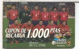 AIRTEL SELECCION ESPAÑOLA FUTBOL FOOTBALL - Sport