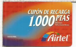 AIRTEL 100 PESETAS - Espagne