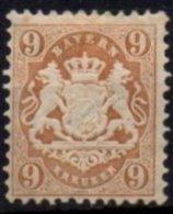 BAVIERE - 9 K De 1870/73 Neuf TB - Bayern (Baviera)