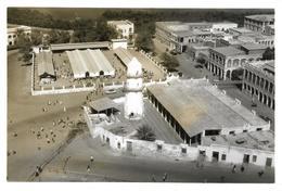 ~  JP ~ DJIBOUTI  ~  La   Mosquée Et Le Marché  Photographie .     16,3 Cm X 11 Cm . Rare à Saisir . - Djibouti