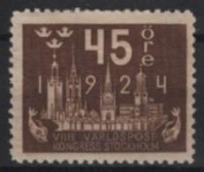 Sweden (1924)  Yv. 171  /  MNH - Nuevos