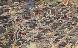 ( USA ) North America ( Washington ) SPOKANE : Downtown Fom The Air - CPA - - Spokane