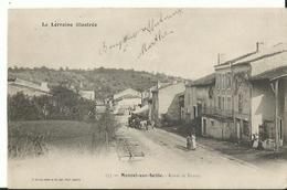 Moncel-sur-Seille, Route De Nancy, TBE 1904 - France