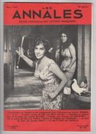 LES ANNALES 03 1959 - GINA LOLLOBRIGIDA - ACCELERATION DE L'HISTOIRE - LA MODE - CHARLES LE QUINTREC - HEROS DE THEATRE - Journaux - Quotidiens
