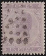 Belgie    .   OBP  .      21     .     O        .      Gebruikt      .  /  .     Oblitéré - 1865-1866 Linksprofil