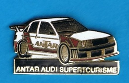 PIN'S //   ** ANTAR ** AUDI / SUPERTOURISME ** - Audi