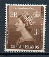 1953 - TOKELAU  -  Mi. Nr. 4 - NH - (CW4755.21) - Tokelau