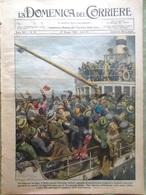 La Domenica Del Corriere 27 Maggio 1928 Streeter Frana Grottammare Mille Bremen - Altri