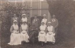 MILITARY HOSPITAL. . WOUNDED SOLDIERS AND NURSES - Militaria