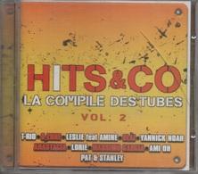 CD. HITS & CO. La Compile Des Tubes - Vol. 2 - T-RIO - Yannick NOAH - LORIE - CORNEILLE - Dj Casper - Zanak - - Compilations