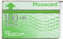 REINO UNIDO BRITISH TELECOM PHONECARD 100 +10 - United Kingdom