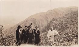 GROUPE DE GENS. GRUPO DE GENTE. CUCHI CORRAL, SIERRAS DE CORDOBA, ARGENTINA 1929 PHOTO FOTO ORIGINAL SIZE 14x8 CM- BLEUP - Anonymous Persons