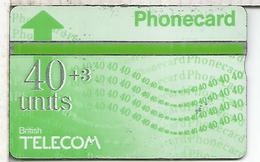 REINO UNIDO BRITISH TELECOM PHONECARD 40+3 - Reino Unido