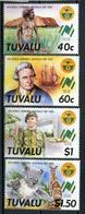 1988 - TUVALU  -  Mi. Nr. 480/482 - NH - (CW4755.22) - Tuvalu