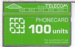 REINO UNIDO BRITISH TELECOM PHONECARD 100 - Reino Unido