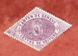 Frachtbriefmarke, Canton De Geneve (53141) - Gebührenstempel, Impoststempel