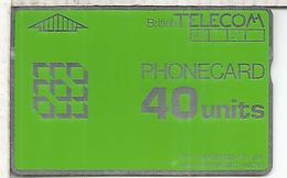 REINO UNIDO BRITISH TELECOM PHONECARD 40 - Royaume-Uni
