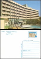 Afghanistan Kabul Intercontinental Hotel Postal Stationary Postcard (EN-11) - Afghanistan