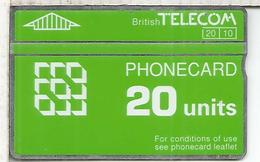 REINO UNIDO BRITISH TELECOM PHONECARD 20 - Reino Unido