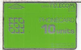 REINO UNIDO BRITISH TELECOM PHONECARD 10 - Reino Unido