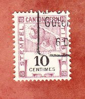 Stempelmarke, Kanton Bern (53144) - Gebührenstempel, Impoststempel