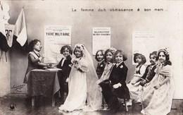 ENFANTS - La Femme Doit Obéissance à Son Mari... - Humorkaarten