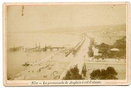NICE XIX Promenade Des Anglais Vue Aerienne Avion Oiseau - Places