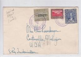 SOBRE ENVELOPE CIRC GUATEMALA TO USA 1939 BANDELETA PARLANTE.TBE- BLEUP - Guatemala