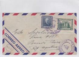 AIRMAIL CIRC EL SALVADOR TO REP ARG 1946 AUTRES MARQUES. TBE- BLEUP - El Salvador