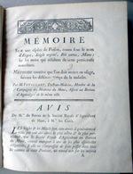 MEDECINE SORCELLERIE ERGOT DU SEIGLE MEMOIRE SUR UNE ESPECE DE POISON VETILLART 1770 RARE - Documents Historiques