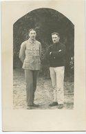 Men Homme Militaire 14-18 Uniforme Scan Dos Id WW1 Elegance Homme Man Moustache 1916  Rppc Carte Photo Non Circulé - War, Military