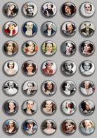 Juliette Binoche Movie Film Fan ART BADGE BUTTON PIN SET (1inch/25mm Diameter) 35 DIFF - Films