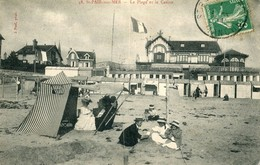 Saint Pair Sur Mer La Plage Et Le Casino - Saint Pair Sur Mer