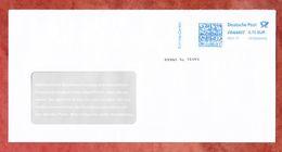 Brief, FRANKIT Neopost 1D150.., Service-Center, 70 C, 2017 (53165) - BRD