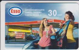 GIFT CARD - SWITZERLAND - ESSO-001 - Gift Cards